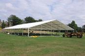 marquee erecting